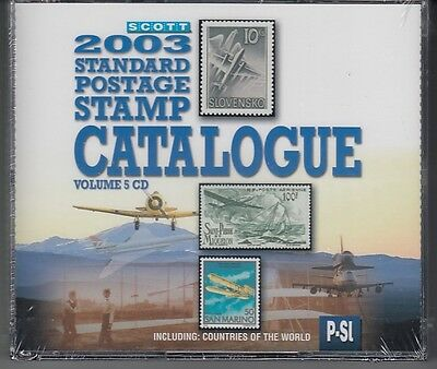 Scott  2003 Standard Postage Stamp Catalogue Vol. 5  Countries P-Sl  CD Version