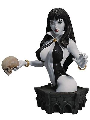 WOMEN OF DYNAMITE VAMPIRELLA Black & White Bust By Arthur Adams