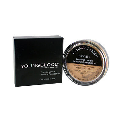 Youngblood Natural Loose Mineral Foundation - Honey 10g Foundation & Powder