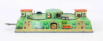 Karussell Bus  Blechspielzeug Made in W Germany Tin Toys