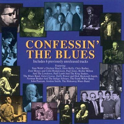 Various - Confessin the Blues (CD) 766126402028