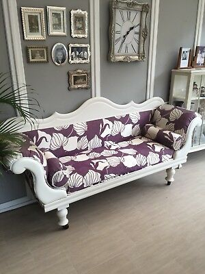 Victorian Antique Sofa .please See Full Description . Pick Up From Wickford Ss12