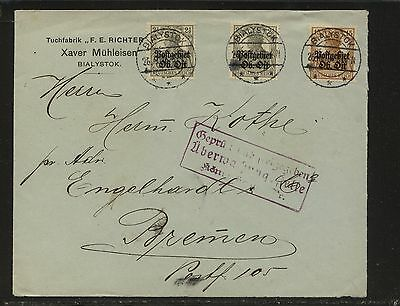 Lithuania , Bilaystok   1N1,1N6  on  cover        KL0820