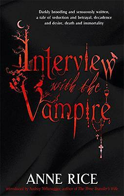 Interview With The Vampire (Vampire Chronicles 1) by Anne Rice | Paperback Book