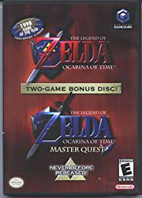 The Legend Of Zelda Ocarina Of Time with Master Quest (LN) Pre-Owned GameCube