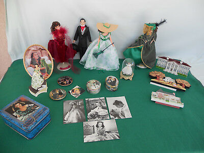 Large LOT of Gone With The Wind ™ Collectibles (please READ) Memorabilia Lot