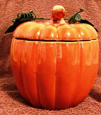 "Vintage Halloween Collectibles--Pumpkin Jack-O-Lantern--6"" Tall-Very Nice!"