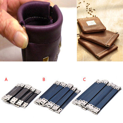 10pcs Elastic Purse Making Supplies DIY Bags Purse Metal Frame Clasp Bag Mouth