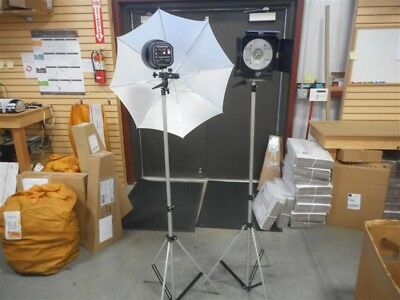Sp Studio Systems Commercial Lighting Kit With Many Accessories!