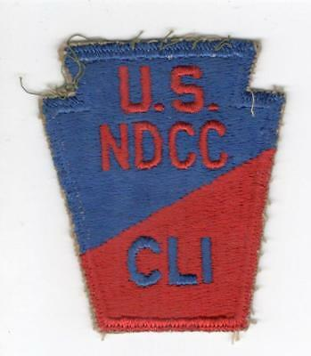 R537 Carson Long Military Academy US National Defense Cadet Corps Patch