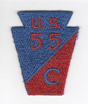 R538 Carson Long Military Academy US National Defense Cadet Corps Patch