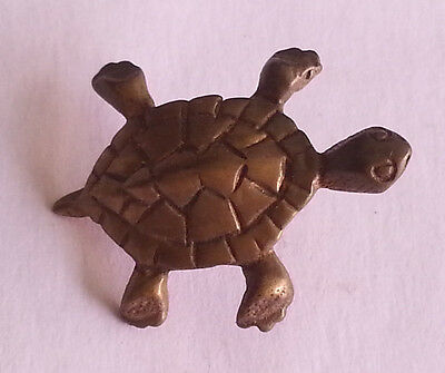 Pin's pin TORTUE COULEUR BRONZE (ref CL29)