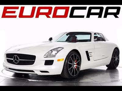2013 Mercedes-Benz SLS AMG GT 2013 Mercedes-Benz SLS AMG GT - Impeccable White Over Red with Just 7,100 Miles