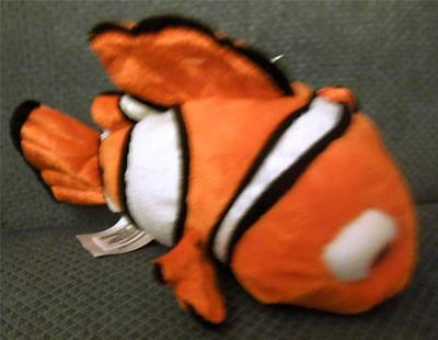 "New Disney Exclusive 8"" Plush Nemo New With Tags"