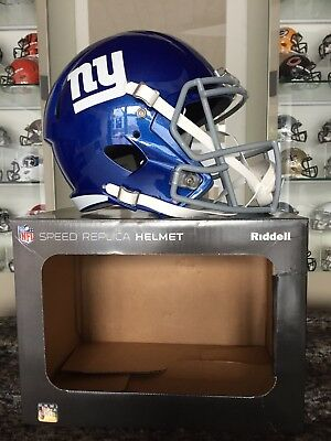 NFL Football Full Size Speed Helm NEW YORK GIANTS Riddell neu &OVP