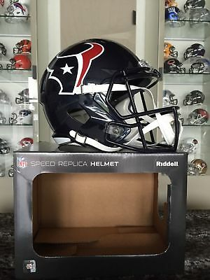 NFL Football Full Size Speed Helm HOUSTON TEXANS Riddell neu &OVP