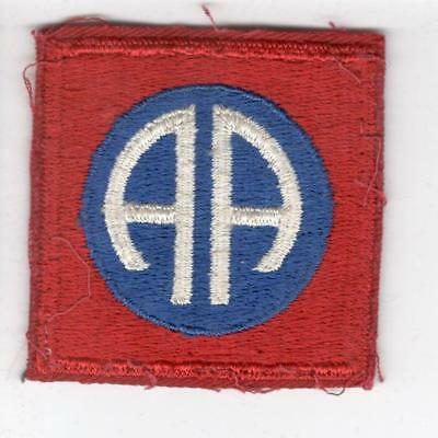WW 2 82nd Airborne Division Red Base Patch Inv# B538
