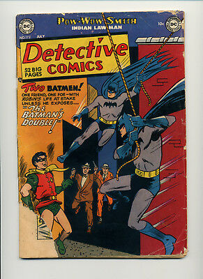 1951 Dc Comics Detectve Comics #173 Batman Pow Wow Smith