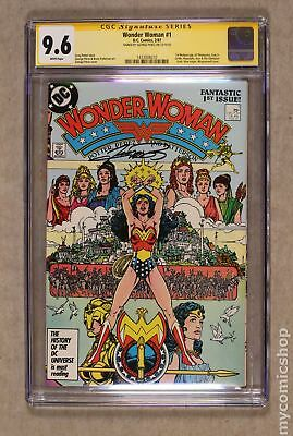 Wonder Woman (2nd Series) 1A 1987 CGC 9.6 SS 1433008010