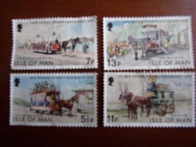 Gb Isle Of Man Postage Stamps From 1976