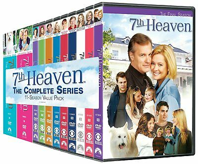 7th Heaven: The Complete Series (DVD, 2010, 61-Disc Set, Canadian) *Brand New*
