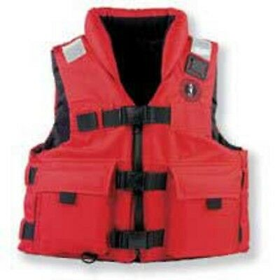 Mustang Floatation Vest Search & Rescue Vest Neoprene Lined Large