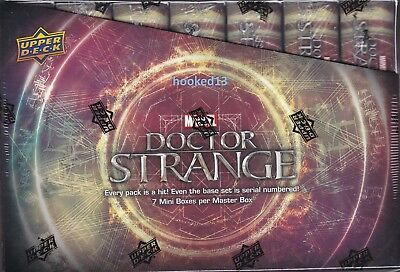 Marvel Doctor Strange Trading Cards Box Upper Deck 2016
