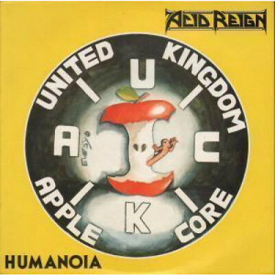 """ACID REIGN Humanoia 10"""" VINYL French Under One Flag 1989 4 Track B/W All I See"""