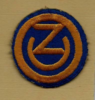 "Original Ww2 Us Army 102Nd Infantry ""ozarks"" Division Patch"