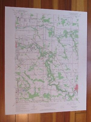 Orchard Park New York 1967 Original Vintage USGS Topo Map
