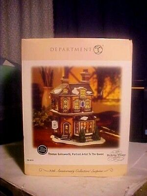 Dept 56 Dickens Village Thomas Gainsworth Portrait Artist To The Queen Building