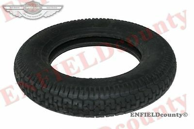 "Single Unit Front Rear Mrf Lambretta Vespa 3.5"" X10"" Rubber Wheel Tyre Tire @aus"