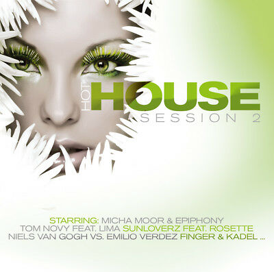 CD Hot House Session Volume 2 von Various Artists Artists 2CDs