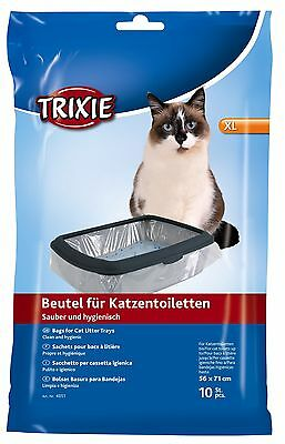1 x Trixie 10 Pack - Cat Litter Tray Bags / Liners - 3 Sizes Singles Or Bulk