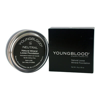 Youngblood Natural Loose Mineral Foundation - Neutral 10g Foundation & Powder