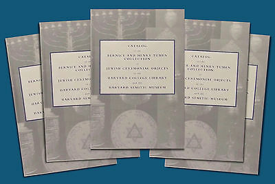 5 Copies of Book on Antique Jewish Ceremonial Silver - The Tumen Collection