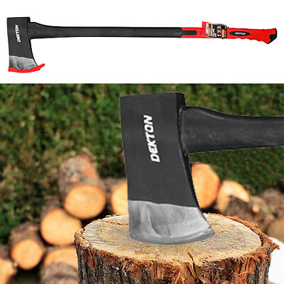 4lb Long Hand AXE Hatchet Fibreglass Handle Shaft Chopper Split Wood Kindling