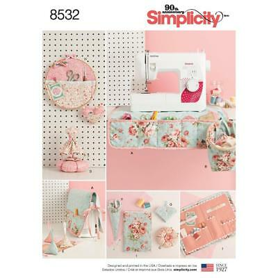 Simplicity Sewing Pattern Sewing Room Accessories 8532