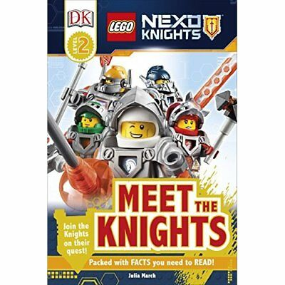 LEGO-« NEXO KNIGHTS: Meet the Knights (DK Readers Level - Hardcover NEW DK (Auth