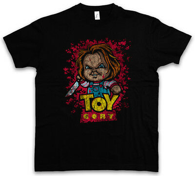 TOY GORY T-SHIRT Bride Seed of Story Fun Shirt Chucky Gore bloody Child's Play