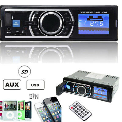 Bluetooth Car Auto Radio Stereo MP3/USB/SD/AUX-IN Receiver FM Radio Player