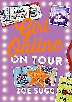 Girl Online: On Tour, By Sugg, Zoe (Zoella),in Used but Good condition