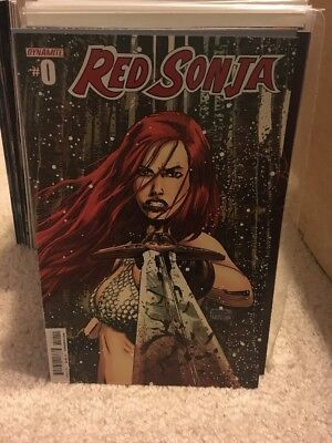 Lot of 10 Red Sonja Comics By Dynamite Comics! #1 by Gail Simone!