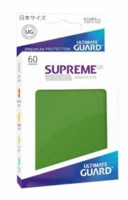Ultimate Guard Japanese Sleeves Supreme UX - Green (60) MINT
