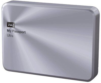 WD My Passport Ultra Metal Edition - 2TB 2000GB Silber Externe Festplatte