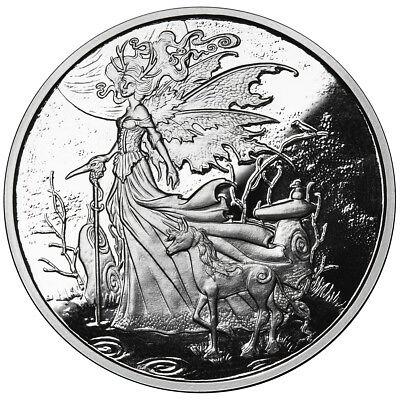 1 Oz Silver Coin Amy Brown Fairy Collection *the Red Queen 1St In The Series Coa