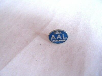 Vintage AAL Aid Association For Lutherans Life Insurance Enamel Lapel Pin