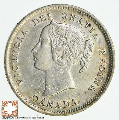 1900 Canada 5 Cents Large Date *8509