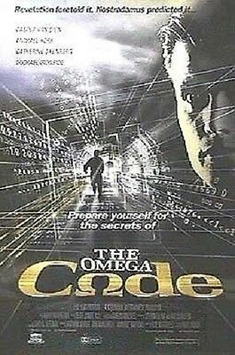 The Omega Code Original S/S Rolled Movie Poster 27x40 NEW 1999 Michael York
