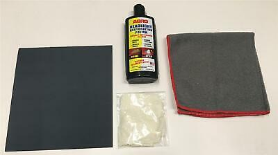 Kit for Clear Plastic Cleaner Restorer Polish Removes Scratches From Being Dull